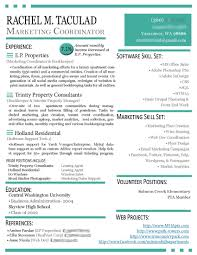 Best Of Marketing Resume Template Aguakatedigital Templates