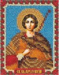 """CM-1398 """"<b>Икона Святого Великомученика Георгия</b>"""""""