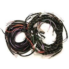 wiring harness, 1967 68 mk2 cooper s w alternator (327alt) seven street rod wiring harness wiring harness, 1967 68 mk2 cooper s