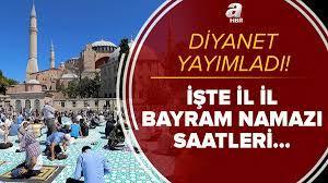 Diyanet son dakika: Bayram namazı kılınacak mı? 2021 bayram namazı saatleri  kaçta? İstanbul, Ankara, İzmir...