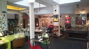 Grande Table Dans Laxe De La Cuisine Picture Of Derriere Paris