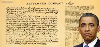 obama s lie about comparing syrian refugees to pilgrims exposed by pilgrims flower compact 1620 advancement of christian faith