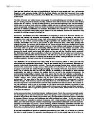 slow food movement essay a level miscellaneous marked by page 1 zoom in