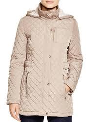 Calvin Klein Coat - Hooded Quilted | Bloomingdale's &  Adamdwight.com