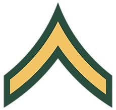 Us Army Rank Chart U S Military Rank Insignia