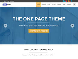 best one page wordpress themes athemes one page