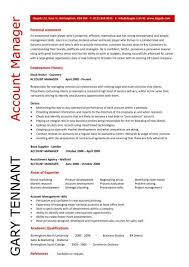 Example Accounting Manager Resume Free Resume Templates Resume