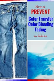 How To Prevent Fabric Color Transfer Bleeding And Fading  DengardenHow To Wash Colors That Bleed