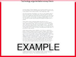 thesis for argumentative essay reflections essay thesis thesis  thesis