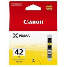 Картридж струйный <b>Canon CLI</b>-<b>42Y</b> 6387B001 <b>желтый</b> для ...