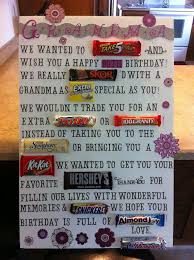 Candy Bar Cards For Birthday Candy Bar Poster Ideas With Clever