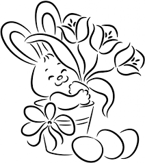 It S An Easter Bunny Coloring