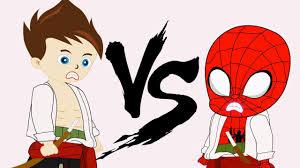 Phim hoạt hình siêu nhân người nhện và nữ hoàng học võ thuật - YouTube