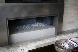 quartz caesarstone hearth fireplace by stone center inc