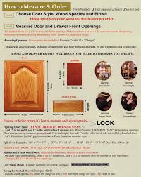 Order Kitchen Cabinet Doors Measuring Installing Your Cabinet Doors Eclectic Ware