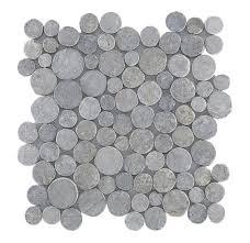 Grote Bouwmarkt Vloertegel Murcia Licht Grijs 333x333 Cm Per M2 Mozaiek Coinstone Donker Grijs