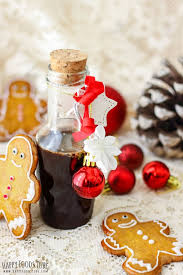 homemade gingerbread syrup from happy foods featured in best gifts for teachers roundup