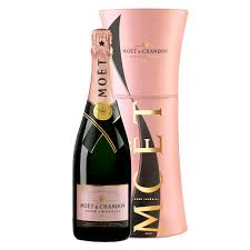 send moet and chandon rose unfurl gift tin 75cl