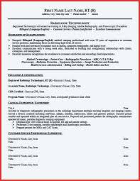 Resume For Radiologic Technologist Gorgeous Sample X Ray Tech Resume Best Ideas Of With Letter Rad Template