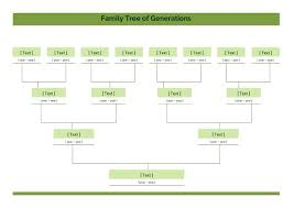 Word Family Tree Template Free Printable Excel Microsoft Maker For ...
