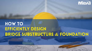 Bridge Substructure And Foundation Design Substructure Foundation Wizard Development