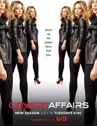Covert Affairs Temporada 4 audio español
