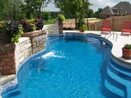 Fiberglass Swimming Pool Designs Unique Decorating
