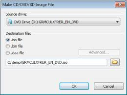 How To Make Iso File From Cd Dvd Or Blu Ray Disc