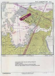 Map Aviation Approach Chart For Naval Air Station Kaneohe