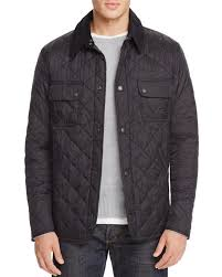 With a corduroy collar and diamond quilting, this Barbour jacket ... & With a corduroy collar and diamond quilting, this Barbour jacket is a  handsome mix of Adamdwight.com