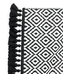 black and white bath rug black and white bath rug black white bathroom rug jacquard weave