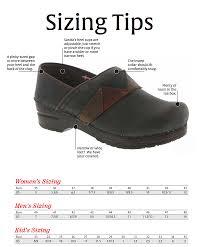 Sanita Shoe Size Conversion Chart Size Guide