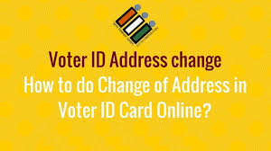 how to change address on your voter