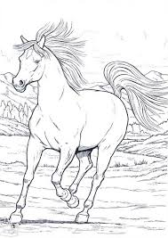 Wild Horse Coloring Pages 2 Funny Coloring Fun Time