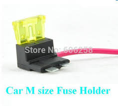 aliexpress com buy car middle size electrical fuse holder car middle size electrical fuse holder circuit fuse box socket a 20a fuse