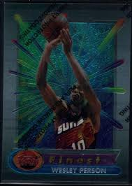 Amazon.com: Basketball NBA 1994-95 Topps Finest #322 Wesley Person RC:  Collectibles & Fine Art