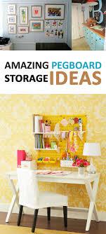 Amazing Pegboard Storage Ideas