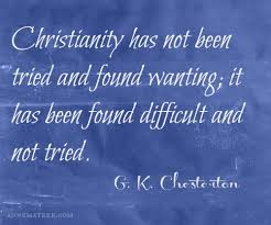 Gk Chesterton Quotes Beauteous GK Chesterton Quote Anne Mateer