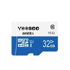 Thẻ nhớ microSDHC Yoosee Extreme Plus 32GB UHS-I U3 4K R90MB/s W40MB/s  (Trắng xanh) - chuyên camera và điện thoại