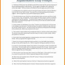Argumentative Essay High School Example Essay English Also