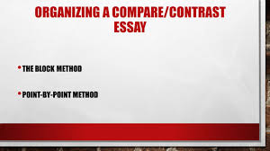 organizing your compare contrast essay superman vs batman ppt  6 organizing a compare contrast essay the block method point by point method