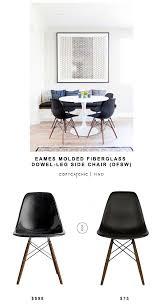 eames molded chair. EAMES MOLDED FIBERGLASS DOWEL-LEG SIDE CHAIR (DFSW) | $598 Eames Molded Chair