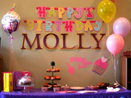 nice home decoration for 1st birthday party on home decor inside