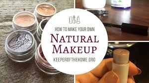 diy natural makeup with of keeper of the home