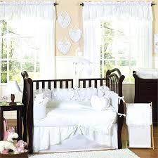 baby girl monkey bedding white baby bedding set 6 crib c 2 on white baby bedding