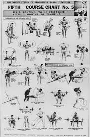 The Weider System Of Progressive Barbell Exercise Chart 5