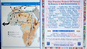Debunking The 12 Tribes Of Israel Chart By Repairers Of The