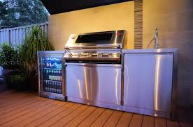 Stainless Steel Outdoor Kitchen Outdoor Kitchens Stainless Steel Bbqs Alfresco Areas Ph 08