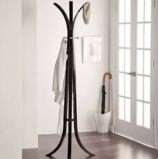 Black Wood Coat Rack Magnificent Entry Coat Rack Womens Hat Large Wooden Black Wood Tripod Home Decor