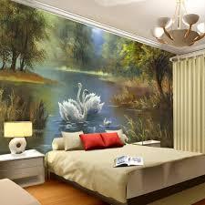 elegant swan lake wallpaper 3d photo wallpaper custom wall murals intended for wall art paintings for bedroom 3d on 3d wall art painting designs with elegant swan lake wallpaper 3d photo wallpaper custom wall murals